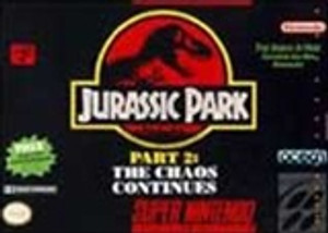 Jurassic Park, The Chaos Continues - SNES Game
