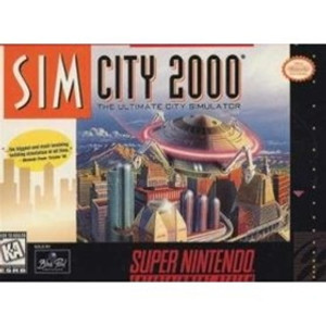 Sim City 2000 - SNES Game