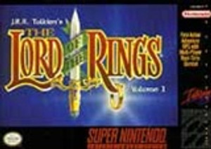 Lord of the Rings Vol 1, The - SNES Game