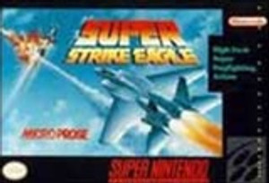 Super Strike Eagle - SNES Game