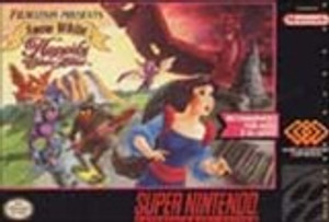 Snow White in Happily Ever After - SNES Game