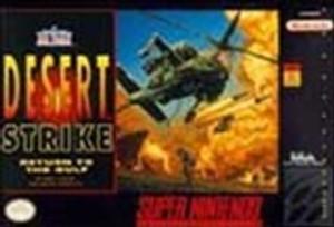 Desert Strike Return to the Gulf- SNES Game