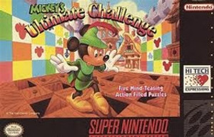 Mickey's Ultimate Challenge - SNES Game