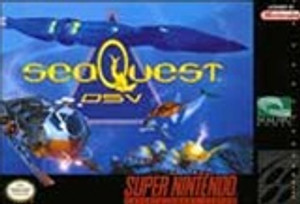 SeaQuest DSV - SNES Game