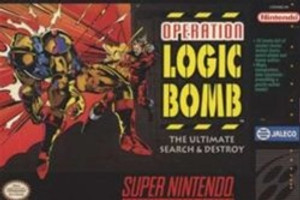 Operation Logic Bomb - SNES Game