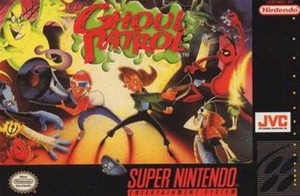 Ghoul Patrol- SNES Game