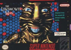 Lawnmower Man, The - SNES Game