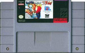 Earthworm Jim - SNES Game
