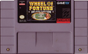 Wheel of Fortune Deluxe Edition - SNES Game