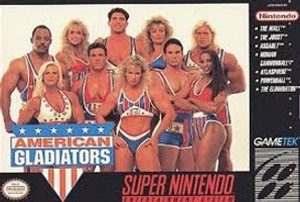 American Gladiators - SNES Game