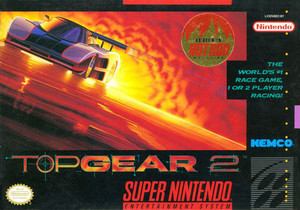 Top Gear 2 - SNES Game