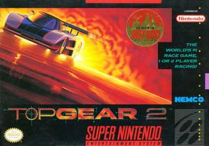 Top Gear 2 - SNES Game