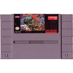 Street Fighter II - SNES Game Cartridge