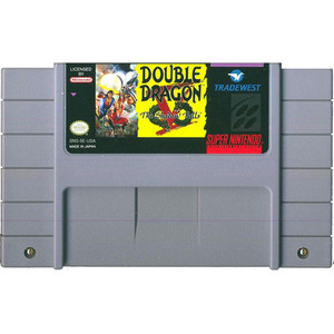 Double Dragon V Shadow Falls - SNES Game