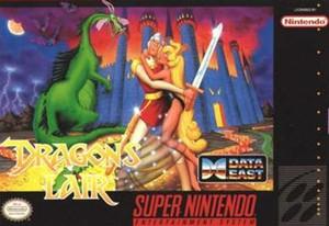 Dragon's Lair - SNES Game