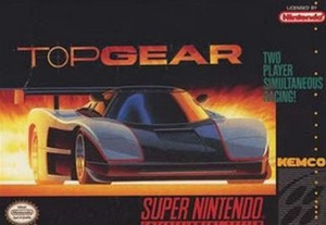 Top Gear - SNES Game