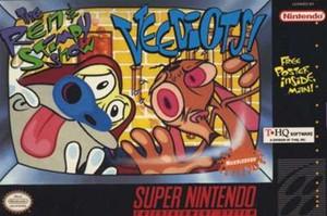 Ren & Stimpy Show:Veediots! - SNES Game