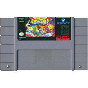 Battletoads In Battlemaniacs - SNES Game
