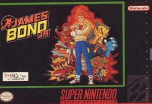 James Bond Jr - SNES Game