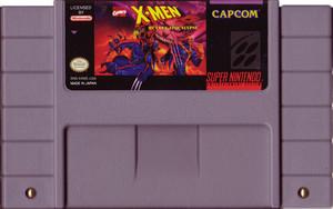 X-men Mutant Apocalypse Super Nintendo SNES video game for sale , cartridge pic.