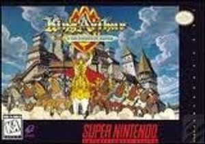 King Arthur & Knights of Justice - SNES Game