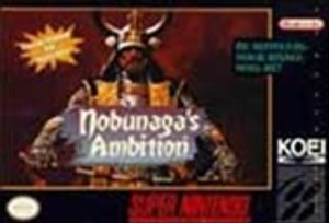 Nobunaga's Ambition - SNES Game
