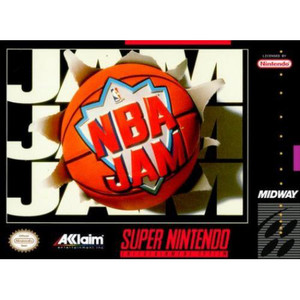 NBA Jam Basketball - SNES Game
