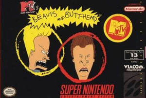 MTV's:Beavis and Butt-Head - SNES Game