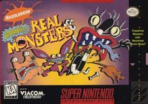 Nickelodeon:Aaahh!!!Real Monsters - SNES Game