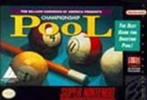 Championship Pool - SNES Game