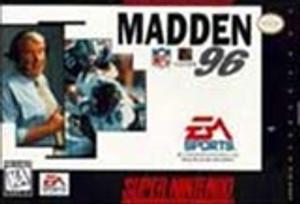 Madden NFL '96 - SNES Game