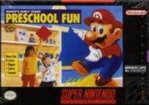 Mario's Early Years:Preschool Fun - SNES Game