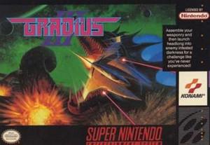 Gradius III - SNES Game