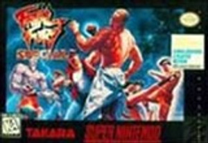 Fatal Fury Special - SNES Game