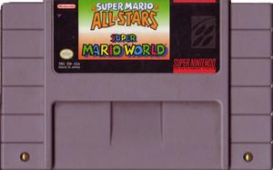 Super Mario All-Stars + Mario World - SNES Game