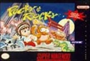 Pocky & Rocky - SNES Game