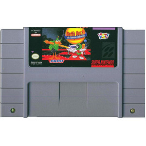 Daffy Duck Marvin Missions - SNES Game