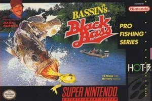 Bassin's Black Bass - SNES Game