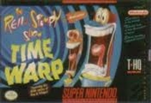 Ren & Stimpy Show:Time Warp, The - SNES Game