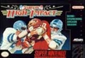 Super High Impact Football - SNES Game