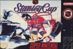 NHL Stanley Cup Hockey - SNES Game