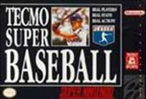 Tecmo Super Baseball - SNES Game