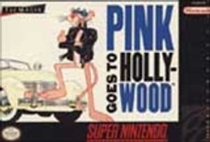 Pink Panther Goes to Hollywood - SNES Game
