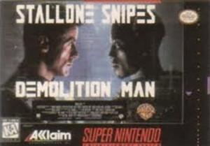 Demolition Man - SNES Game