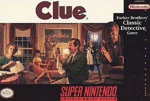 Clue - SNES Game