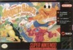 Super Aquatic Games - SNES Game