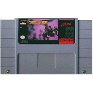 Choplifter III - SNES Game