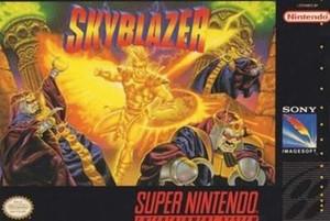Skyblazer - SNES Game
