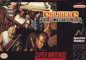 Soldiers of Fortune - SNES Game