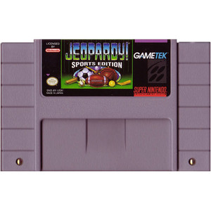 Jeopardy! Sports Edition - SNES Game
